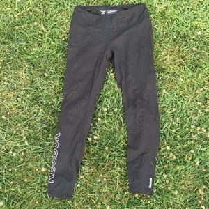 Fleece lined Reebok leggings